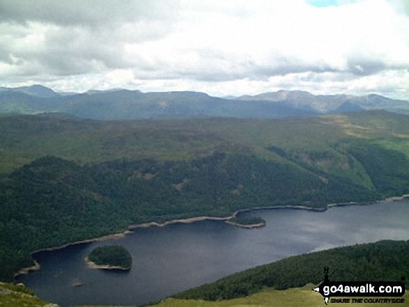 Thirlmere from Lower Man (Helvellyn)