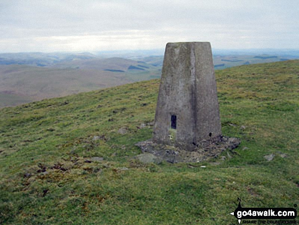 Hownam Law summit cairn