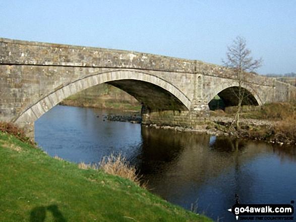 Bridge over Liddle Water in Newcastleton