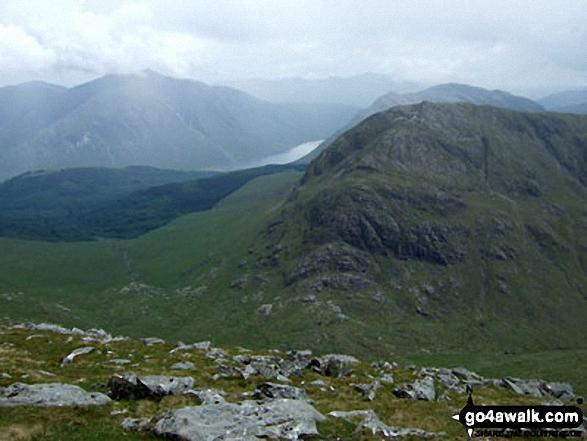 Ben Starav, Loch Etive, Beinn Trilleachan behind Beinn Fhionnlaidh (East Top) from Sgor na h-Ulaidh