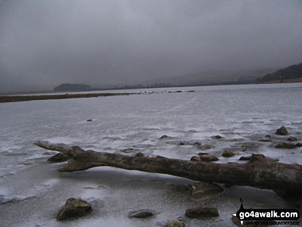 Malham Tarn in the grip of Winter - 7th March, 2006