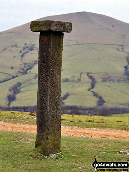 Hope Cross - with Lose Hill (Ward's Piece) in the background