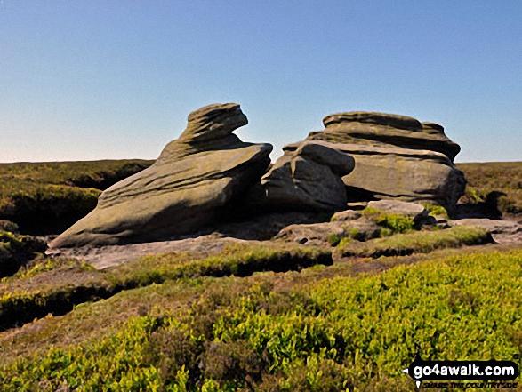 Madwoman's Stones, Edale Moor