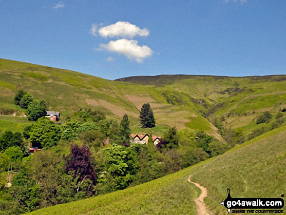 Lady Booth Brook and Edale Youth Hostel