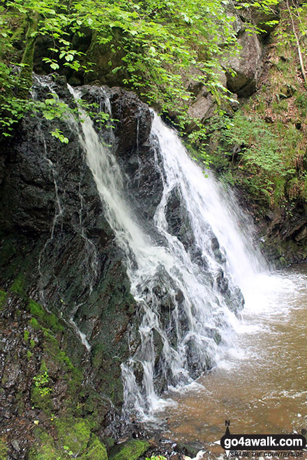 The Fairy Glen Waterfall