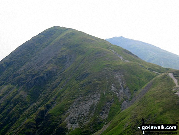 Froswick and Ill Bell from the path to Thornthwaite Crag