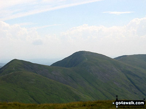Walk c153 Thornthwaite Crag from Troutbeck - Froswick, Ill Bell and Yoke from Stony Cove Pike (Caudale Moor)