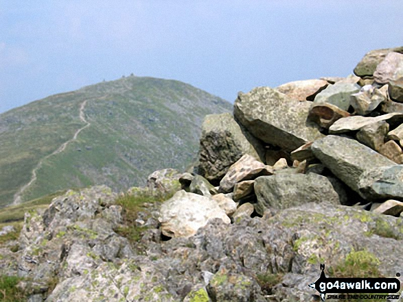 Walk c153 Thornthwaite Crag from Troutbeck - Ill Bell from Yoke summit