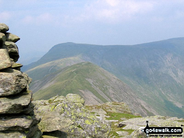 Froswick and Thornthwaite Crag seen from Ill Bell