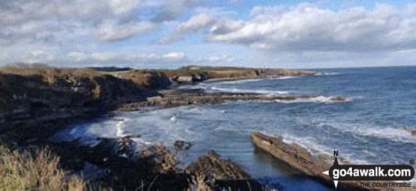 The coast near Dunstanburgh Castle