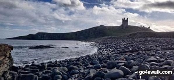 Walk n116 Dunstanburgh Castle from Craster - Dunstanburgh Castle