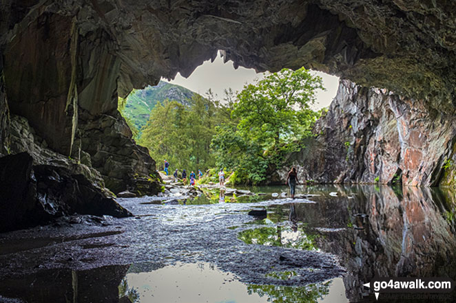Rydal Cave, Loughrigg Fell