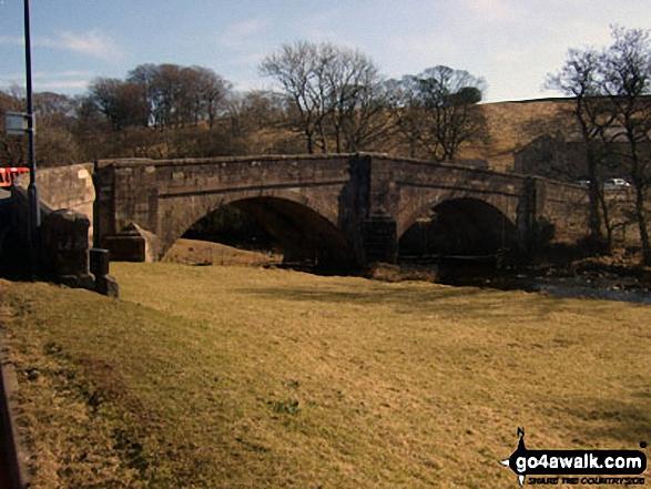 Slaidburn bridge over The River Hodder