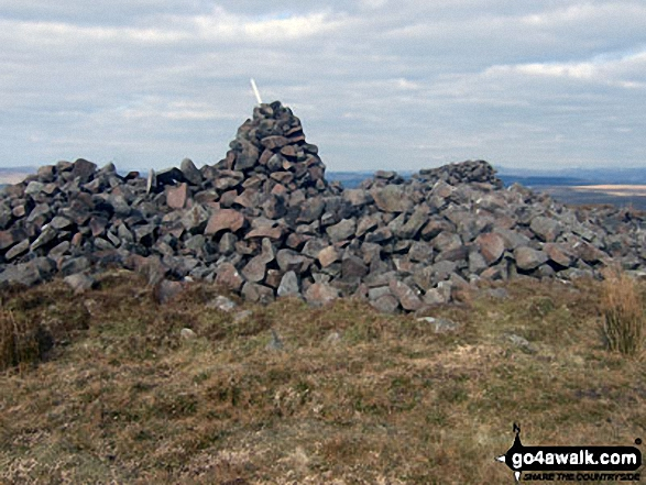 Sadler Hill summit cairn