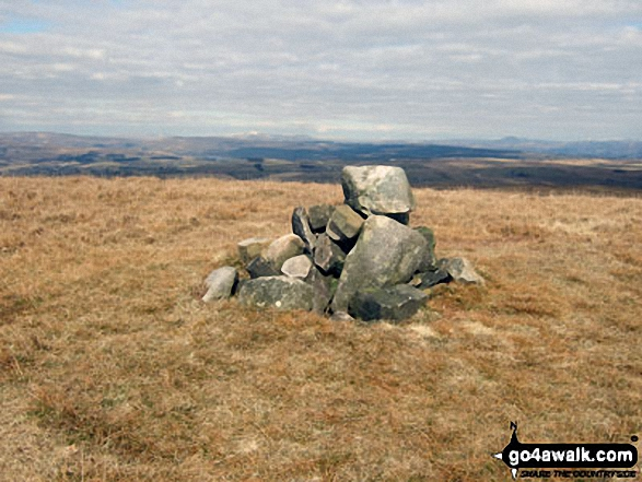 Easington Fell summit cairn