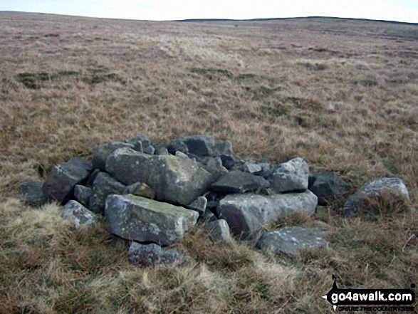 'Old Ned's Wife' (cairn) on Easington Fell