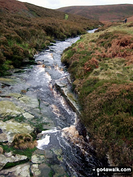 The Porter or Little Don River in Laund Clough
