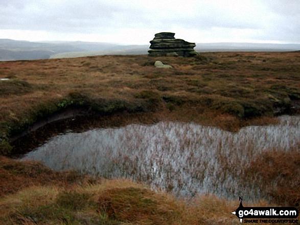 Horse Stone (Horse Stone Naze) on Howden Moors