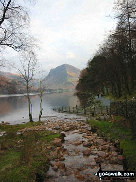 Buttermere with Fleetwith Pike beyond