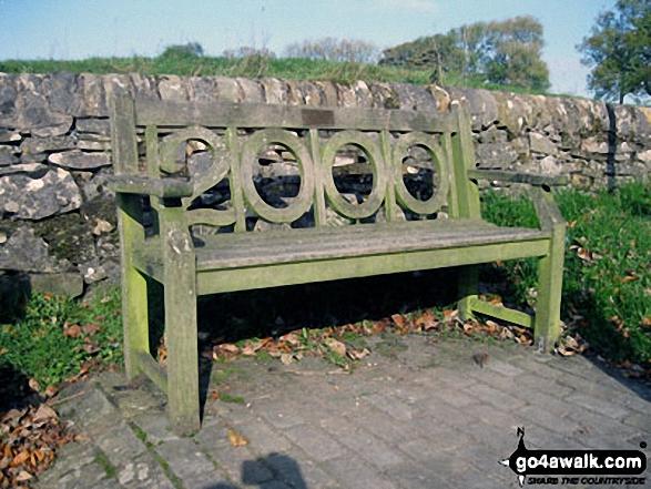 Millennium Bench in Butterton Village