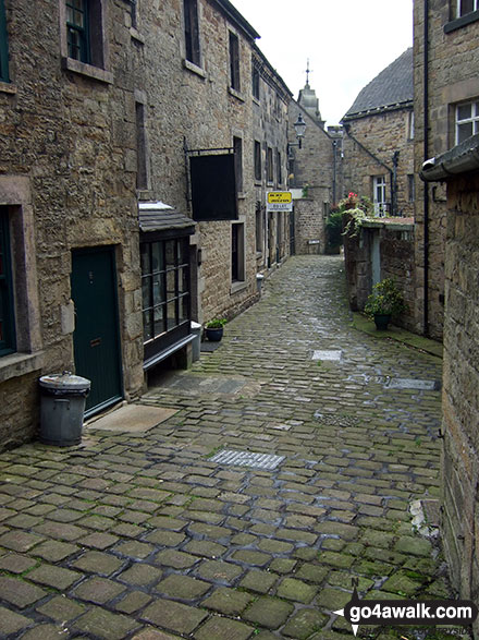 Chapel Street in Longnor Village
