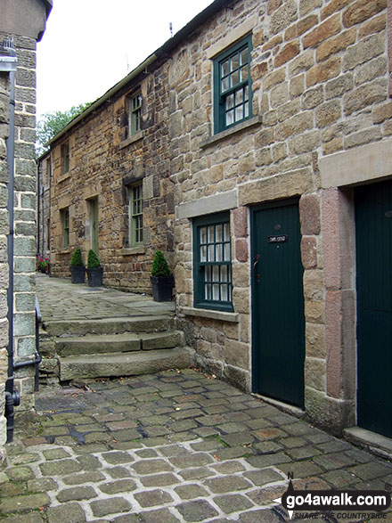 Chapel Street, Longnor Village
