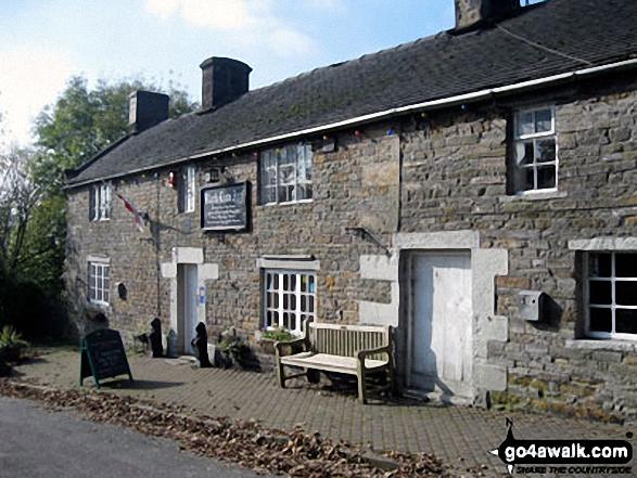 The pub in Butterton Village