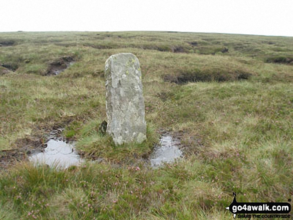 Boundary Stone on Three Pikes