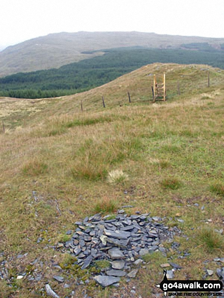 Walk Pen y Brynfforchog walking UK Mountains in The Arans Area Snowdonia National Park*<br> Gwynedd    Wales
