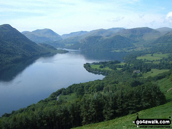 Ullswater from Hind Crag (Gowbarrow Fell)