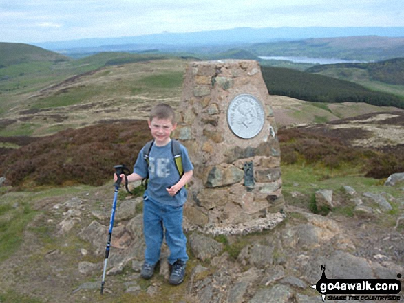 My little boy Marc on Gowbarrow Fell