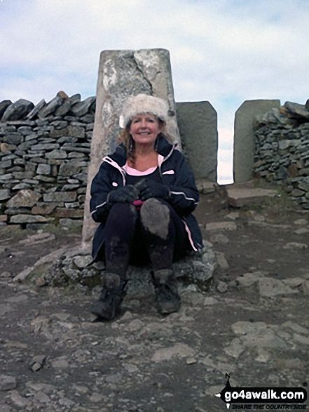 Me on the top of Whernside