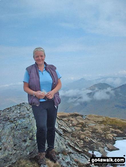 Me on Ben Lui (Beinn Laoigh) - my first Munro