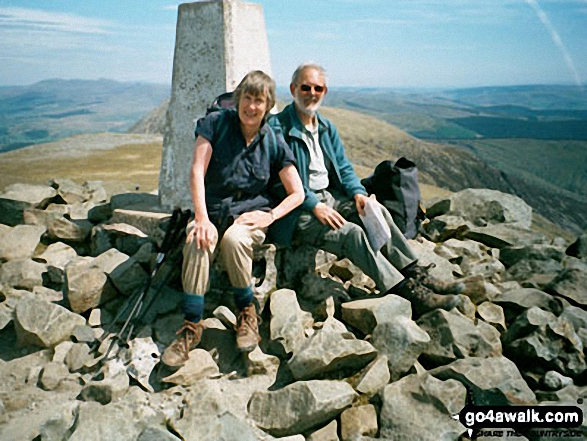 Peter and Janet Harwood on Cadair Idris
