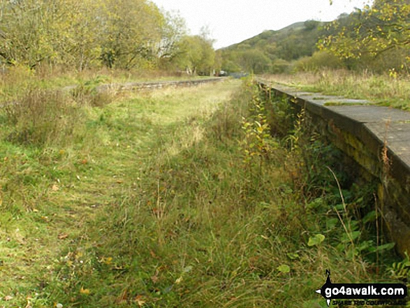 The Monsal Trail at Miller's Dale Station