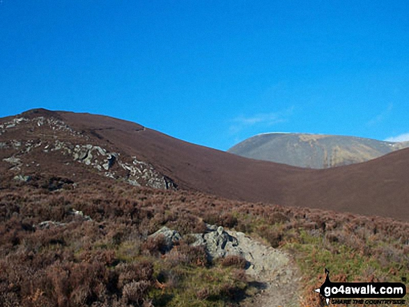 Skiddaw from Lonscale Fell