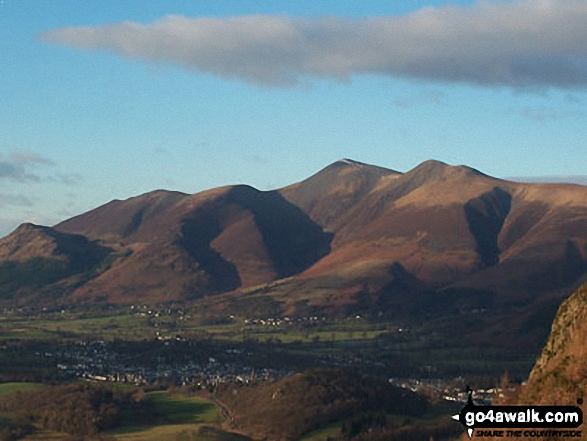 Skiddaw from Whinlatter (Brown How)