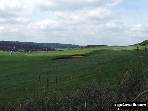 Walk Picture/View: Sheringham Golf Course in Norfolk, England by Jean Betts (75)