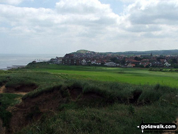 Sheringham from Sheringham Golf Course