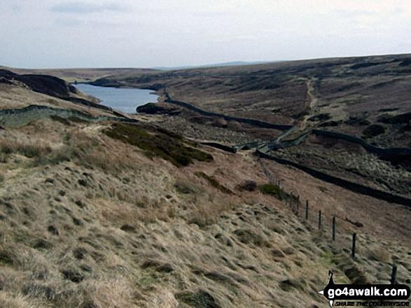 Harden Reservoir from Harden Clough