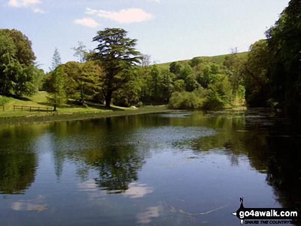 Walk do128 Littlebredy from Abbotsbury - Bridehead Lake, Littlebredy
