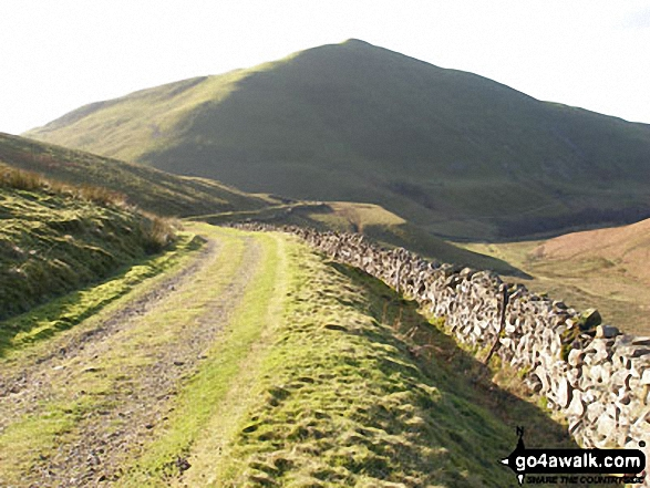 Dufton Pike from Threlkeld Side