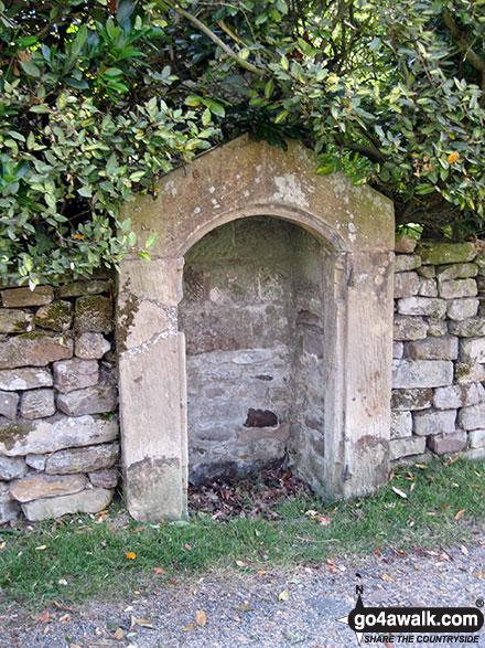 Walk ny190 Appleton-le-Moors from Hutton-le-Hole - St Chad's Well, Lastingham