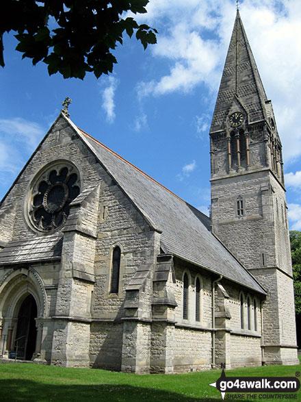 Walk ny190 Appleton-le-Moors from Hutton-le-Hole - Appleton-le-Moors church