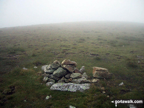 Cairn on Little Dodd (St John%s Common)
