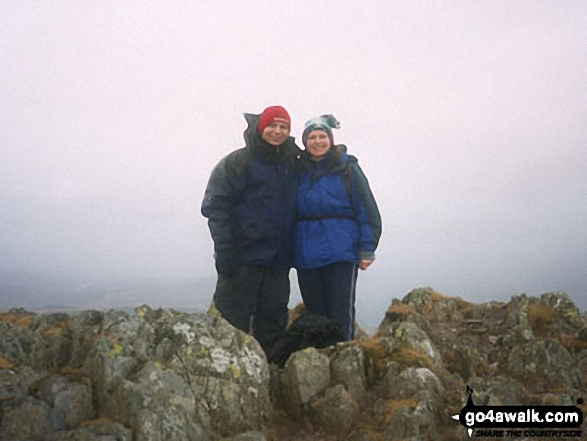 Me and my partner Mark on Cnicht