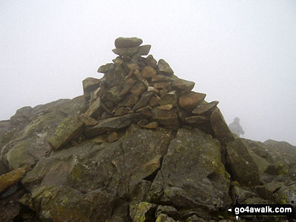 Red Beck Top summit cairn
