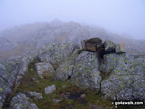 Walk Picture/View: Looking Steads (Glaramara) summit in The Lake District, Cumbria, England by John Antrobus (21)