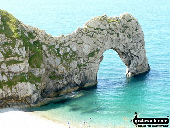 Durdle Door, The South West Coast Path