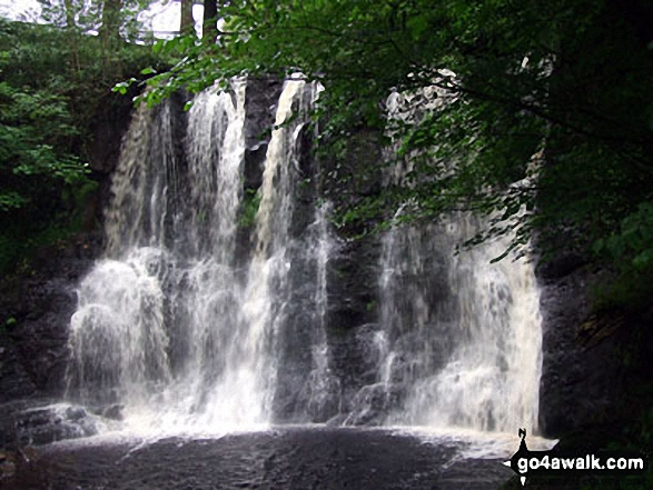 Ess-na-Crub Waterfall, Glenariff Forest Park